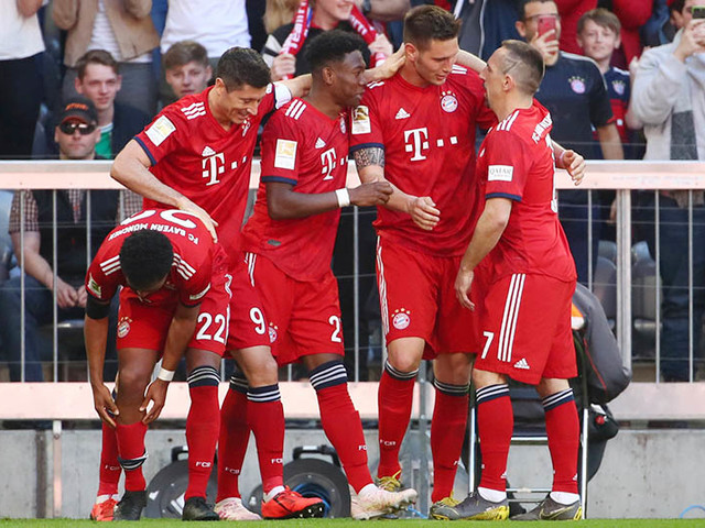 Suele winner keeps Bayern on track for Bundesliga title