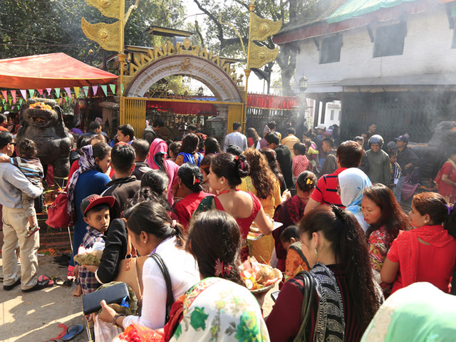 'Maha Ashtami' of Dashain being observed today