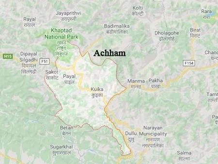 Three killed in Achham jeep accident