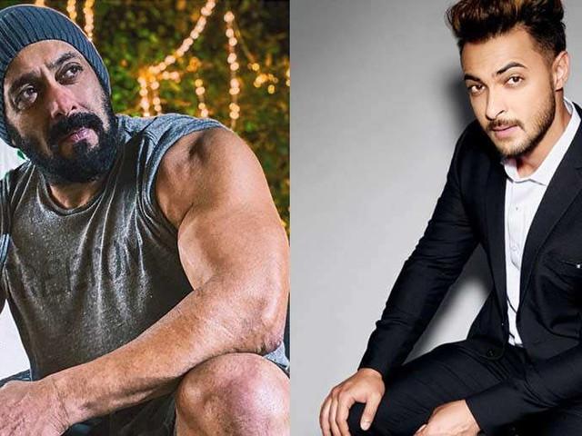 Aayush Sharma says he was scared to punch Salman Khan in Antim