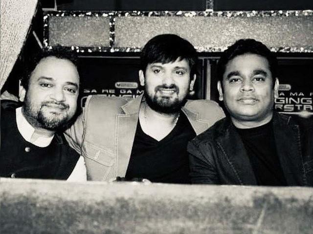 AR Rahman pays tribute to composer Wajid Khan