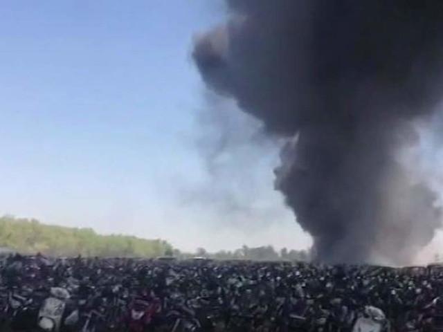 Fire near Aero India 2019 venue, over 100 cars gutted