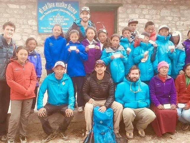ESF support for children of 2014 Everest avalanche victims