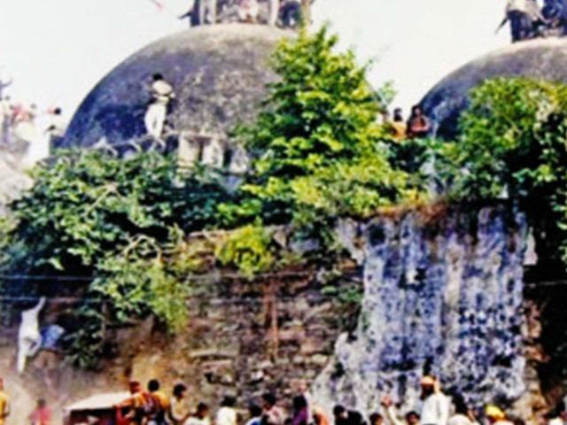 Sunni Board urges SC to 'restore' mosque in Ayodhya