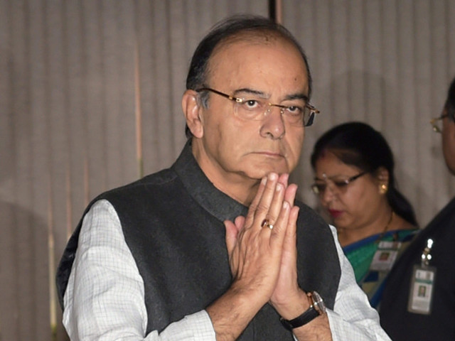 Jaitley annoyed as man asks for Hindi translation of 'bullet train'