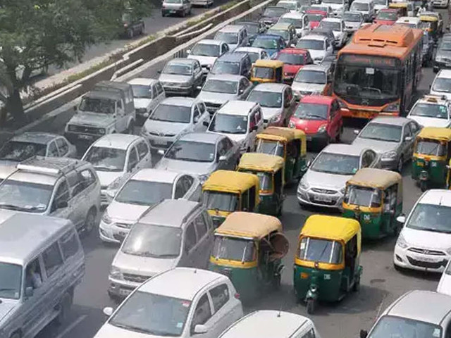 Number of vehicles on Delhi roads over 1 crore, with more than 70 lakh two wheelers: Economic survey