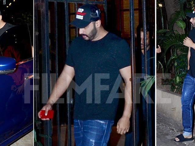 Arjun Kapoor snapped posting spending time with girlfriend Malaika Arora