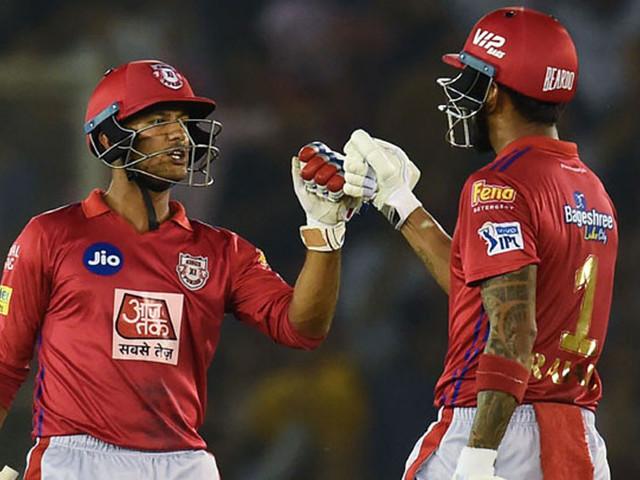 IPL 2019 :राहुल, मयांकच्या खेळीने पंजाब हैदराबादविरुद्ध सरस