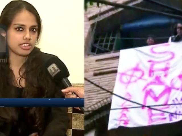 'ഭരണഘടനയെ ബഹുമാനിക്കുന്നു, എനിക്കു രാഷ്ട്രീയമില്ല'അമിത് ഷായ്ക്ക് 'ഗോ ബാക്ക് വിളിച്ച' മലയാളി പറയുന്നു