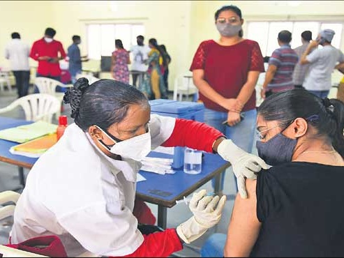 Covid vaccine drive continues at healthy pace in Hyderabad