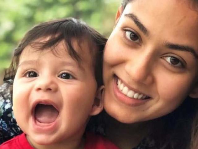 Mira Turns 'Mom the builder' for son Zain