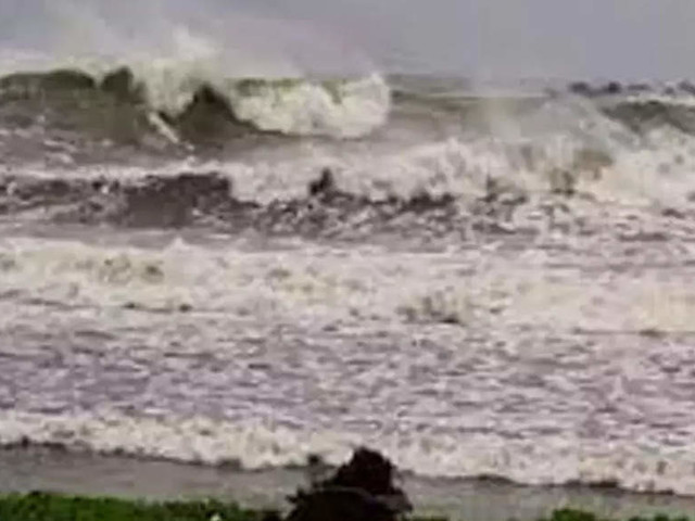 Cyclone Gulab's landfall process begins: IMD