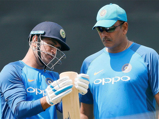 Dhoni a massive influence on team, not even half finished yet: Shastri