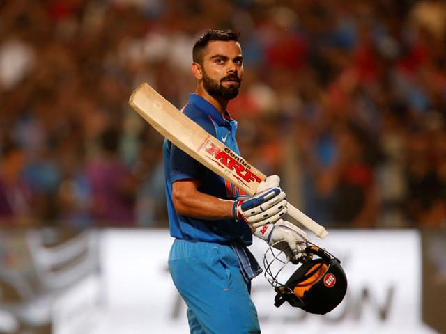 Kohli hits century as India level up Australia series