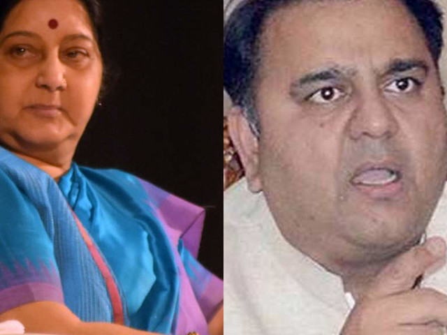 Sushma Swaraj, Pak minister in war of words over report of kidnapping of 2 Hindu girls in Sindh