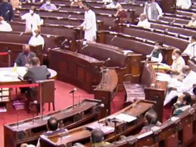 Rajya Sabha proceedings adjourned till noon over record high fuel prices