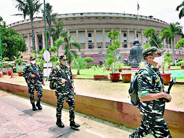 Friday washout makes it a week-long paralysis of Lok Sabha