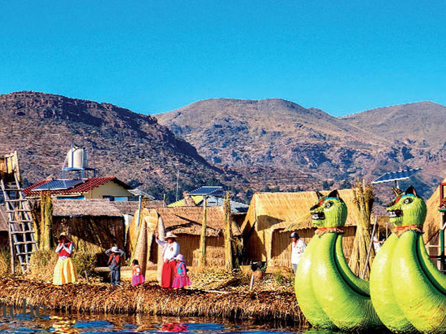 Take the road less travelled: Plan a trip to the 120-mile long Lake Titicaca between Peru and Bolivia