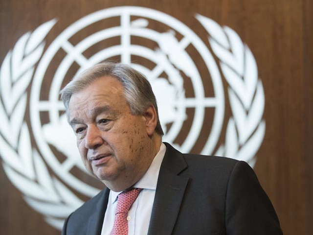 UN chief pans countries who ignored COVID-19 facts, WHO guidance