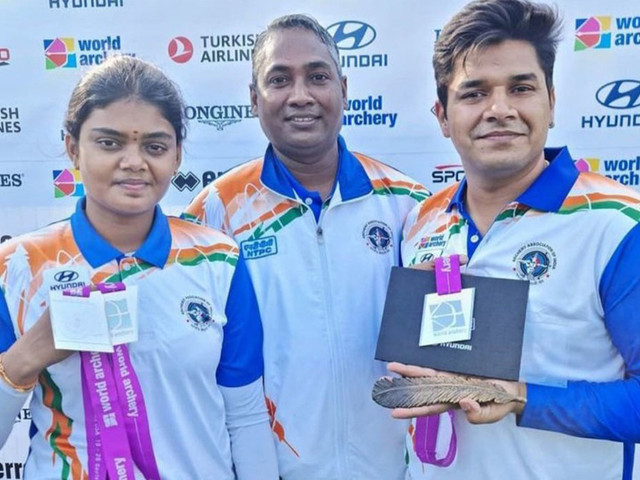 Archery World Championships: Surekha takes 2 silver medals