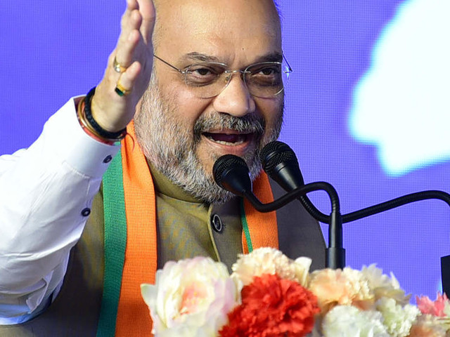 Only Modi govt can give befitting reply to Pakistan: Amit Shah