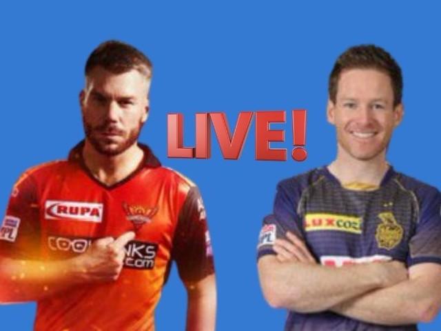 IPL 2021, SRH vs KKR Live : सामन्यात काय घडतंय-बिघडतंय; एका क्लिकवर