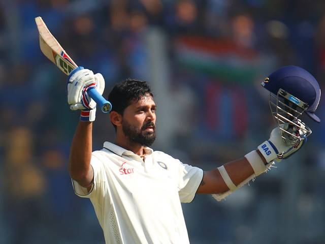 Vijay fifty pushes India to 116-2 at lunch