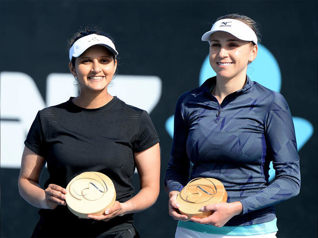 Dream return: Sania wins doubles title in Hobart
