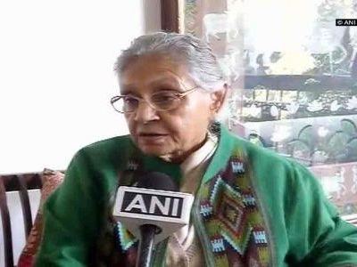 'Protest at BJP Office': Sheila Dikshit's last instruction