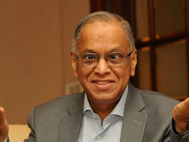 Economic climate most conducive for growth in 300 years: Narayana Murthy