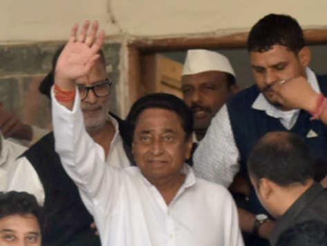 एमपी: भोपाल में होगा CM का ऐलान, राहुल का फोटो से संदेश