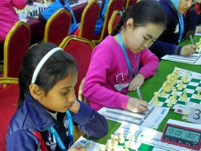 Divya claims Rapid silver in Asian chess