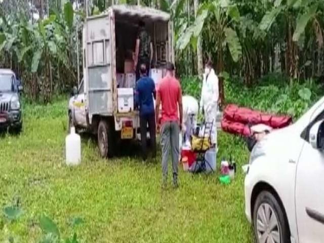 कोझिकोड में निपाह का स्त्रोत पता लगाने को एनआइवी टीम ने फल खाने वाले चमगादड़ों से नमूने लिए