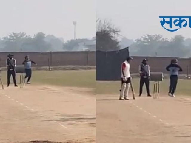 भरतनाट्यम स्टाइल बॉलिंग करतोय खेळाडू; VIDEO VIRAL