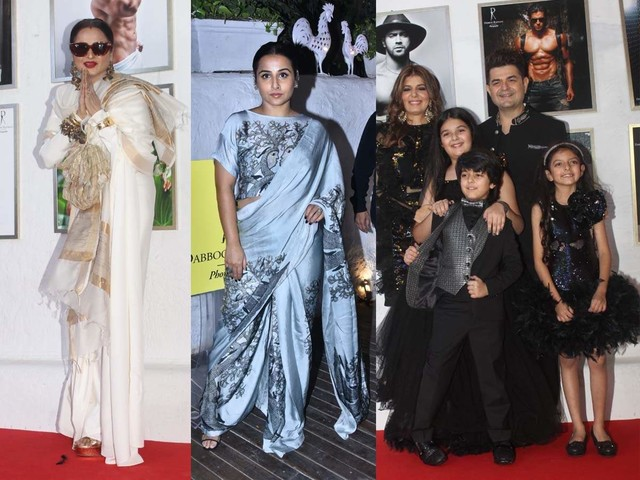 Pics: Celebs attend Dabboo's calendar launch