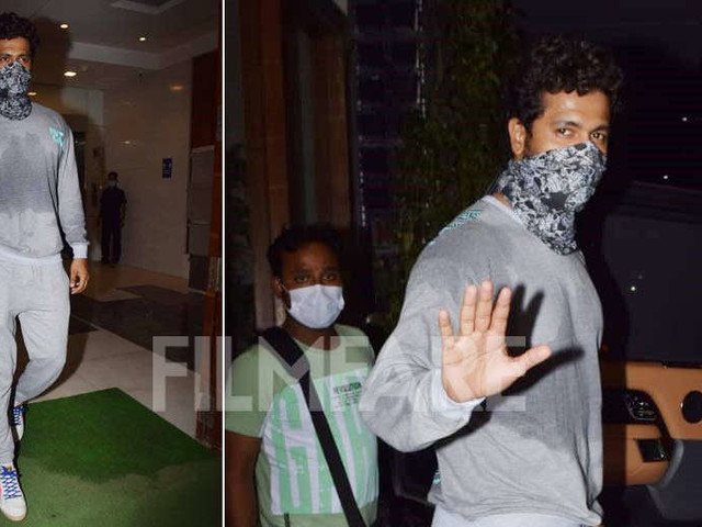 Is Vicky Kaushal prepping for a big dance number?
