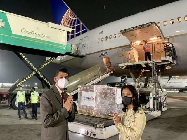 अमेरिका ने रेमडेसिविर के 1.25 लाख वायल भेजे, चिकित्सा सामग्री लेकर अब तक चार उड़ानें आ चुकी हैं भारत