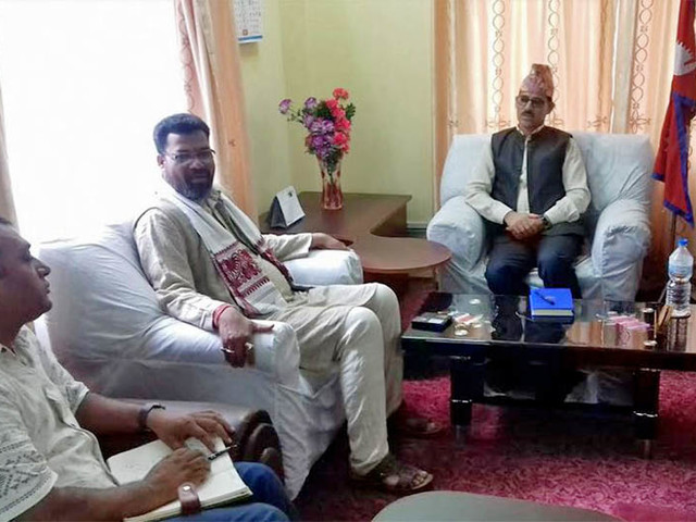 Discussion held on upgradation of Dhangadhi-Shaune road