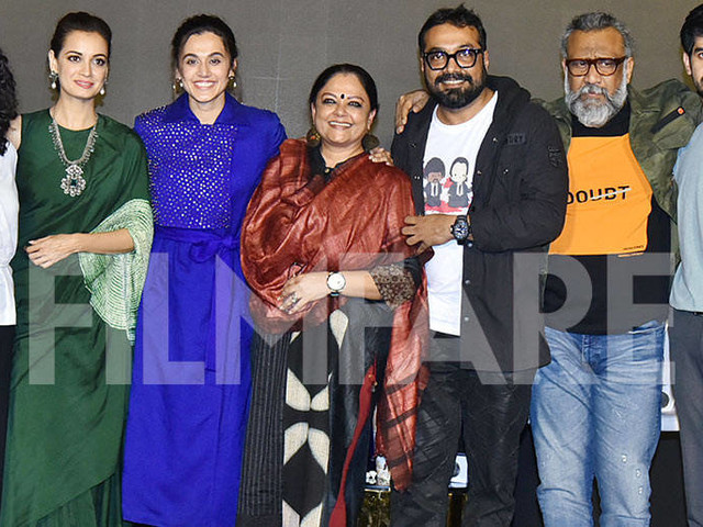 In photos: Celebs attend the screening of Taapsee Pannuâs Thappad