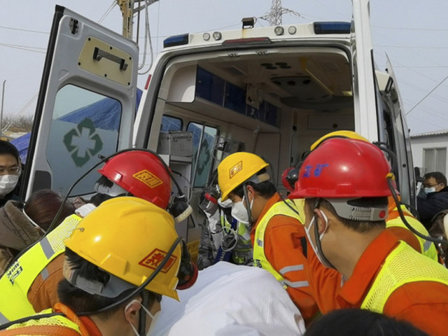 China rescues 11 miners after 14 days trapped underground: CCTV