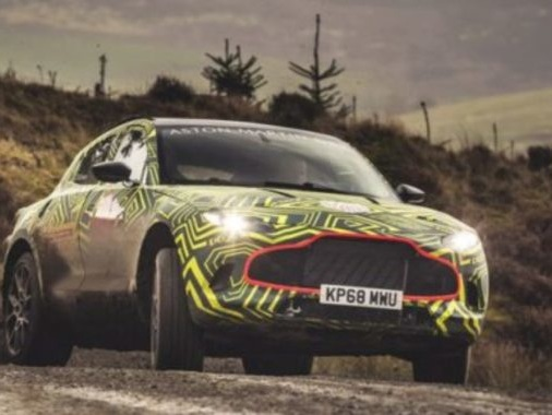 Aston Martin DBX Teased Ahead Of Its Unveiling In December