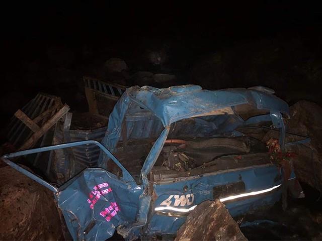 Nuwakot mini-truck accident victims' death toll reaches 20