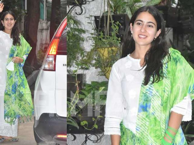 Sara Ali Khan looks beautiful in her signature desi look