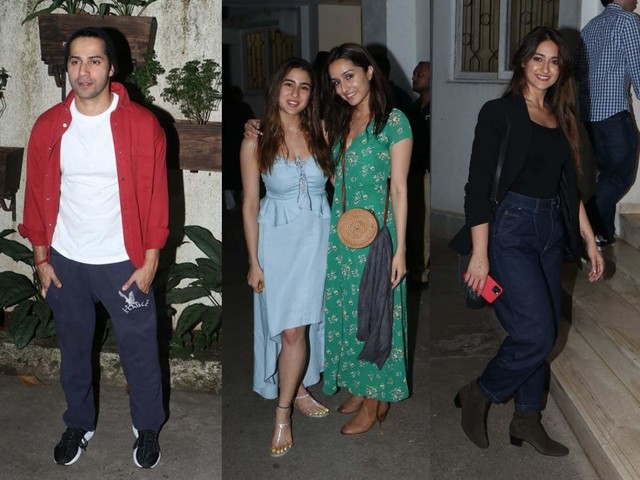 Pics: Bollywood celebs attend 'Bala' screening