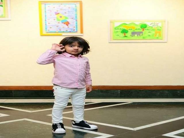 तीन साल के नन्हें अरमान की आर्ट एग्जीबिशन, आर्ट से होने वाली आय कोविड-19 से प्रभावित बच्चों को दी जाएगी