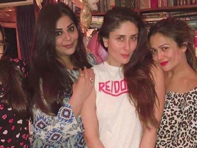 Kareena Kapoor Khan Karisma Kapoor and Amrita Aroraâs epic girls night out