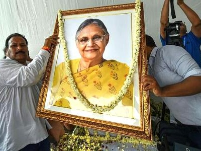 With moist eyes, Delhi bids adieu to Sheila Dikshit