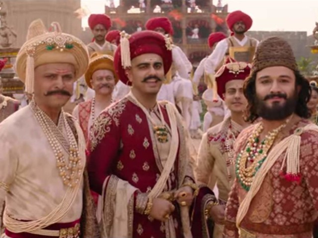 Watch: 'Panipat' new song 'Mard Maratha'