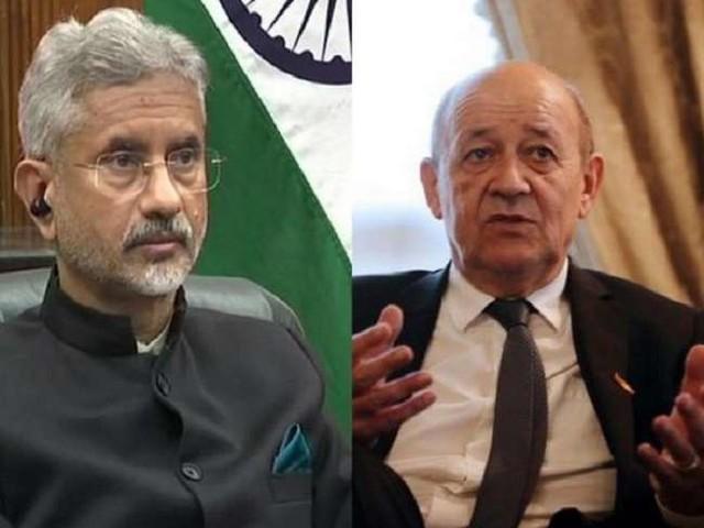 अमेरिका, आस्ट्रेलिया से विवाद के बाद फ्रांसीसी विदेश मंत्री ने की एस जयशंकर से वार्ता