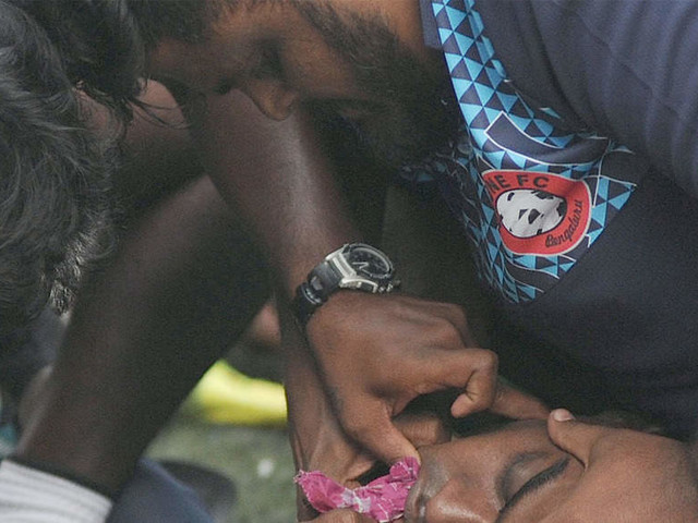 CIL goalkeeper in ICU after rough play